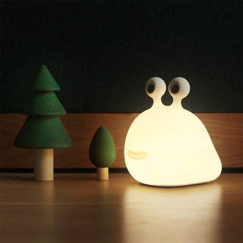 小蛞蝓桌面造型燈 小夜燈
