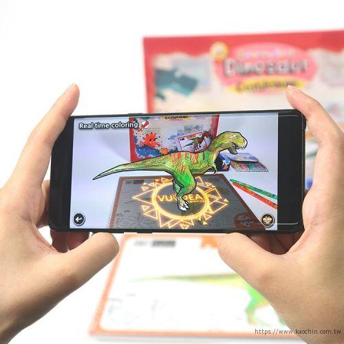 韓國AR兒童繪本 肉食恐龍包裝盒*特價