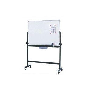烤漆迴轉架+雙面磁白板 90*150cm PR03...