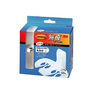 3M 防水收納-牙刷架+2片大膠條 17621B*...