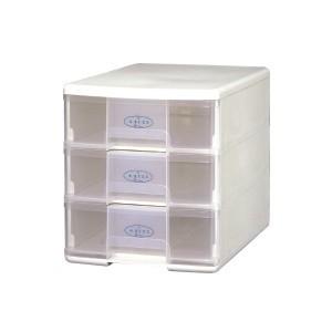 樹德 玲瓏三層收納盒 A4-PC1103