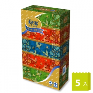 舒潔 新柔感盒裝面紙160抽 50盒入/箱*特價*