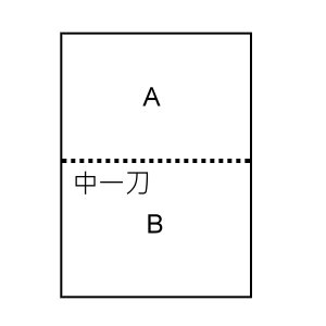 A4(中一刀)影印紙 70g