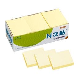 N次貼 1.5*2便條紙(12入) 61106 黃