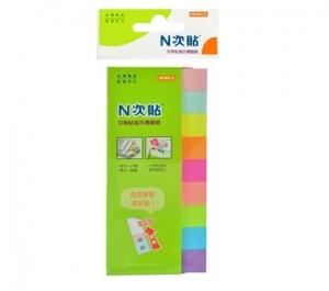 N次貼 指示型9色標籤紙 61424
