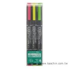 ZEBRA 環保雙頭螢光筆(3色) WKCR1-3...