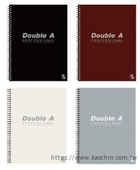 Double A辦公室系列筆記本(線圈) B5/5...