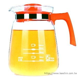 2L玻璃茶壺(不可加熱) NO.S23 *特價*