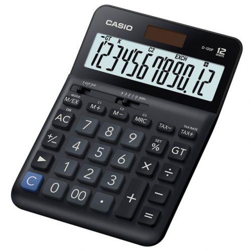 CASIO 12位計算機 D-120F