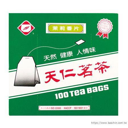 天仁 香片裸袋茶包100入/盒 * 特價 *