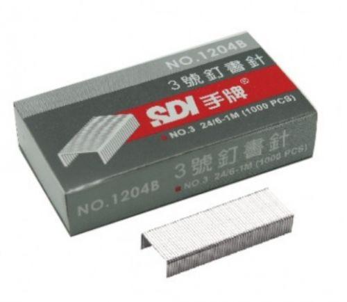 SDI 3號(24/6)訂書針 1204 (10小...