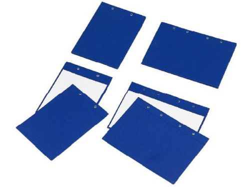 同春 藍布封面布A4 NO.182 (孔在短邊)