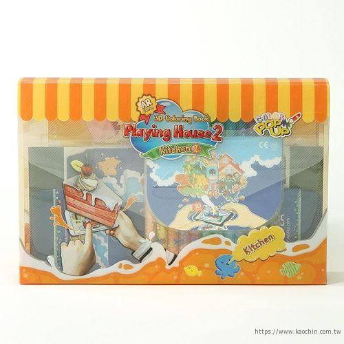 韓國AR兒童繪本 美味廚房包裝盒*特價