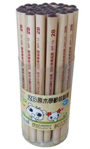 尚禹 大三角原木鉛筆(36入) WP-15