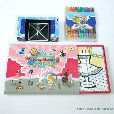 韓國AR兒童繪本 芭蕾娃娃包裝盒*特價