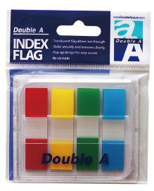 Double A 抽取式螢光4色標籤 DAIF15...