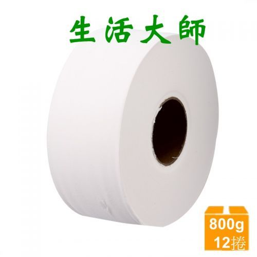 生活大師 大捲筒衛生紙800g *12捲/箱 *特...