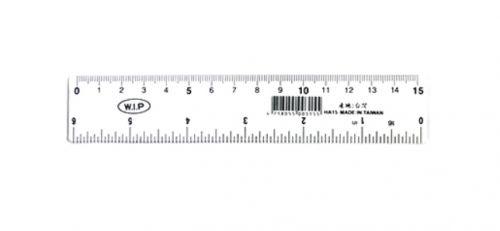 W.I.P 壓克力尺 15cm HA15