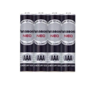 國際牌 4號碳鋅電池 (4入/組)  AAA