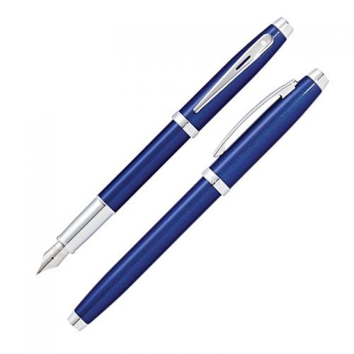 CROSS SHEAFFER 100型 亮藍鋼筆*...