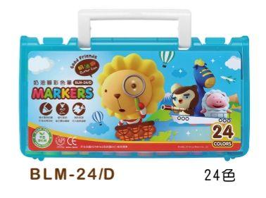 雄獅 奶油獅彩色筆 BLM-24 24色