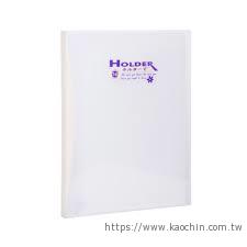 連勤 PP斜紋透明14入文件套 LC014