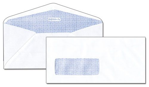 開窗型上膠西大白信封 5016B