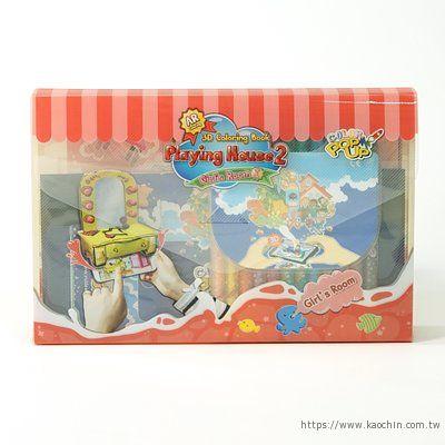 韓國AR兒童繪本 女孩的房間包裝盒*特價