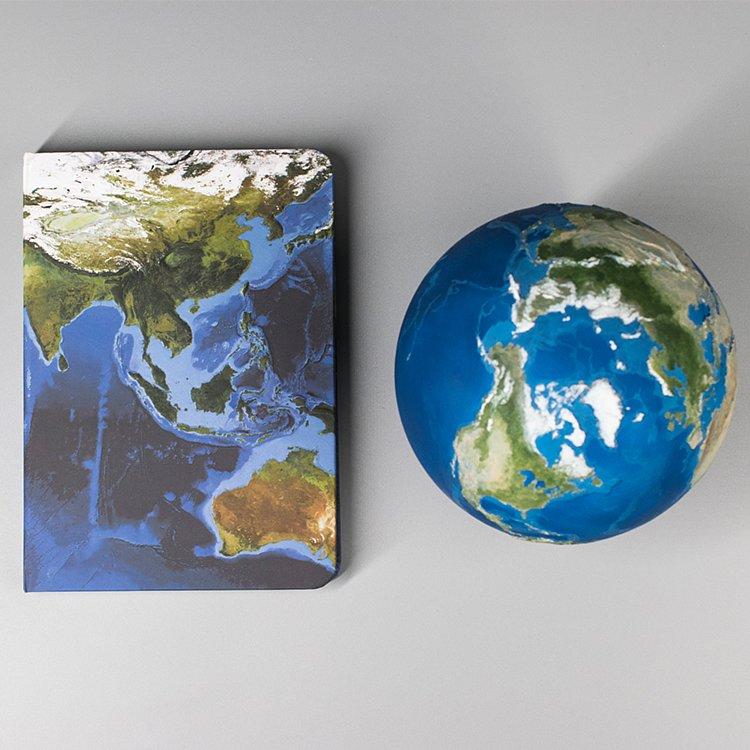 美國Astroreality AR 地球筆記本0251*特價
