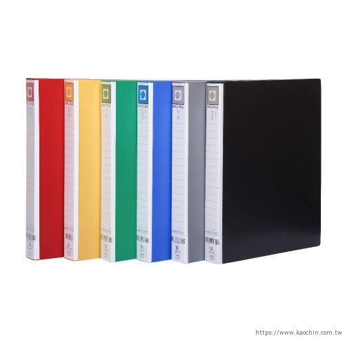 連勤 PP三孔圓型檔案夾 (無耳) LC-9003